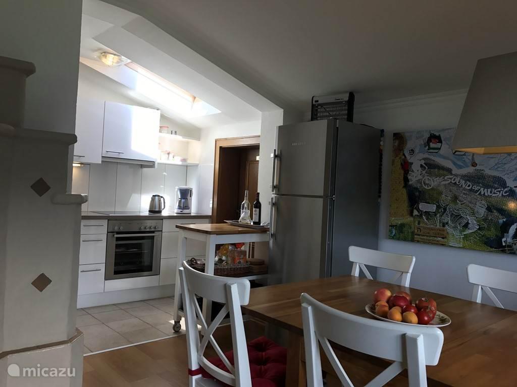 Keuken en koelkast