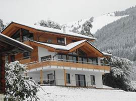 Alpine Chalet am Wildkogel, the first snow has fallen!