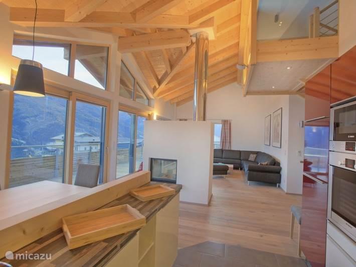 Vacation rental Austria, Salzburgerland, Bramberg Am Wildkogel Chalet Alpenchalet am Wildkogel - Appartement Smaragd