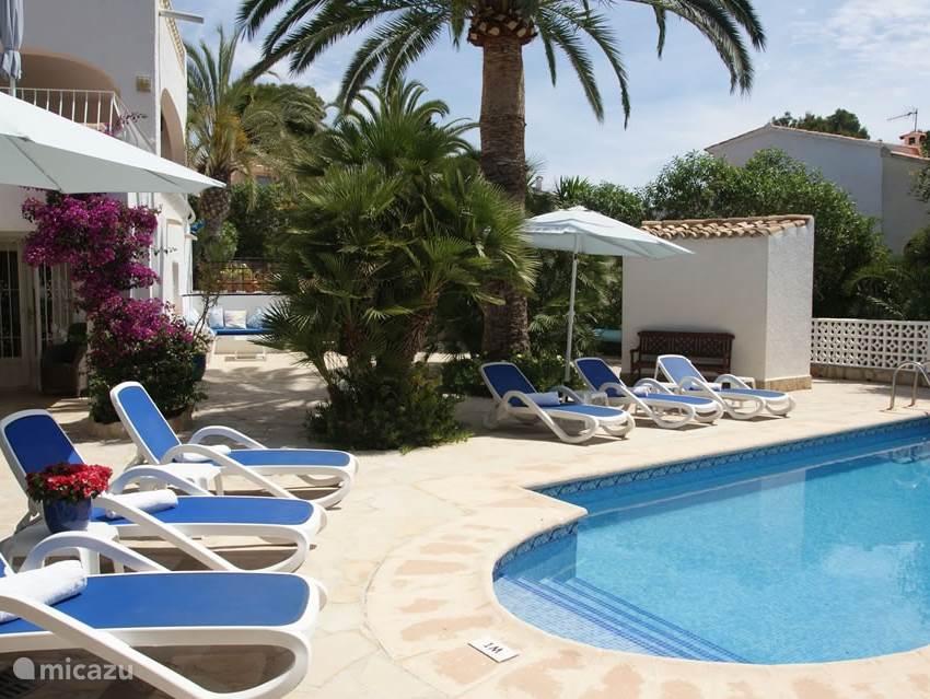 Vakantiehuis Spanje, Costa Blanca, Moraira villa Villa Margaritas