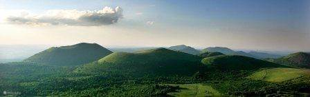 The region in central France, Auvergne
