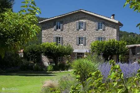 Ferienwohnung Frankreich, Vaucluse, Crestet ferienhaus Mas lou Parpaioun