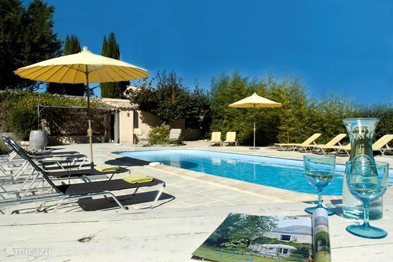 Vakantiehuis Frankrijk, Vaucluse, Crestet Vakantiehuis Mas lou Parpaioun
