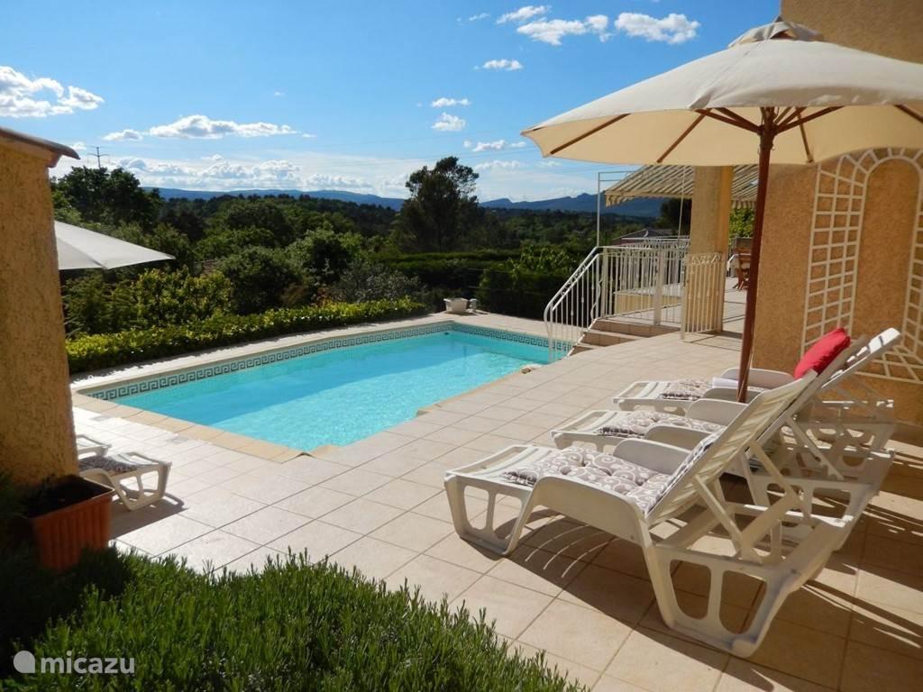 Vakantiehuis Frankrijk, Provence, Rocbaron Vakantiehuis Sans Soucis