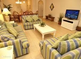In drie kamers zijn TV's en dvd spelers.