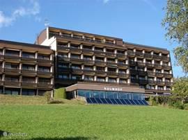 Dit is het appartementen complex Kulmhof.