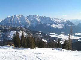 Winter in Tauplitz.