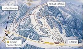 Skipiste (lift op 200 meter afstand)