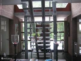 De trap naar de verdieping