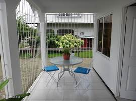 Voor balkon en tafelzet
