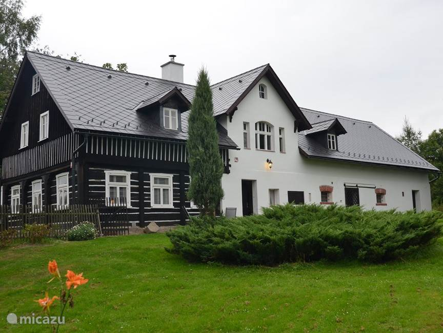 Vakantiehuis Tsjechië, Midden-Bohemen, Hermanice v. Podjestedi Boerderij Boerderij Koinonia