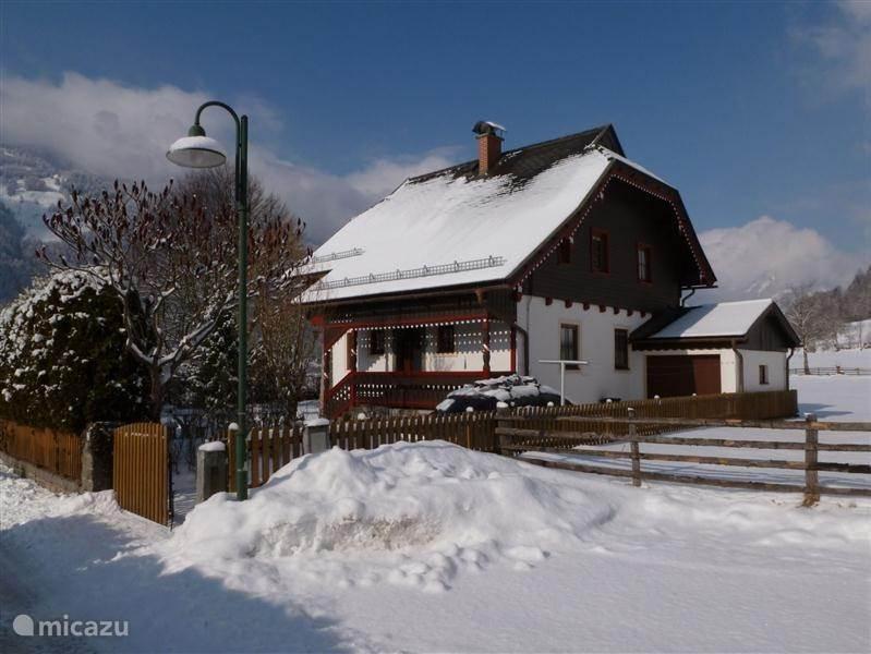 Vakantiehuis Oostenrijk, Karinthië, Hohe Tauern/ Malta / Gmund chalet Landhaus Alpenrose in het Maltatal