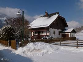 Our house is on the outskirts of the village (town center is a 5 minutes walk).