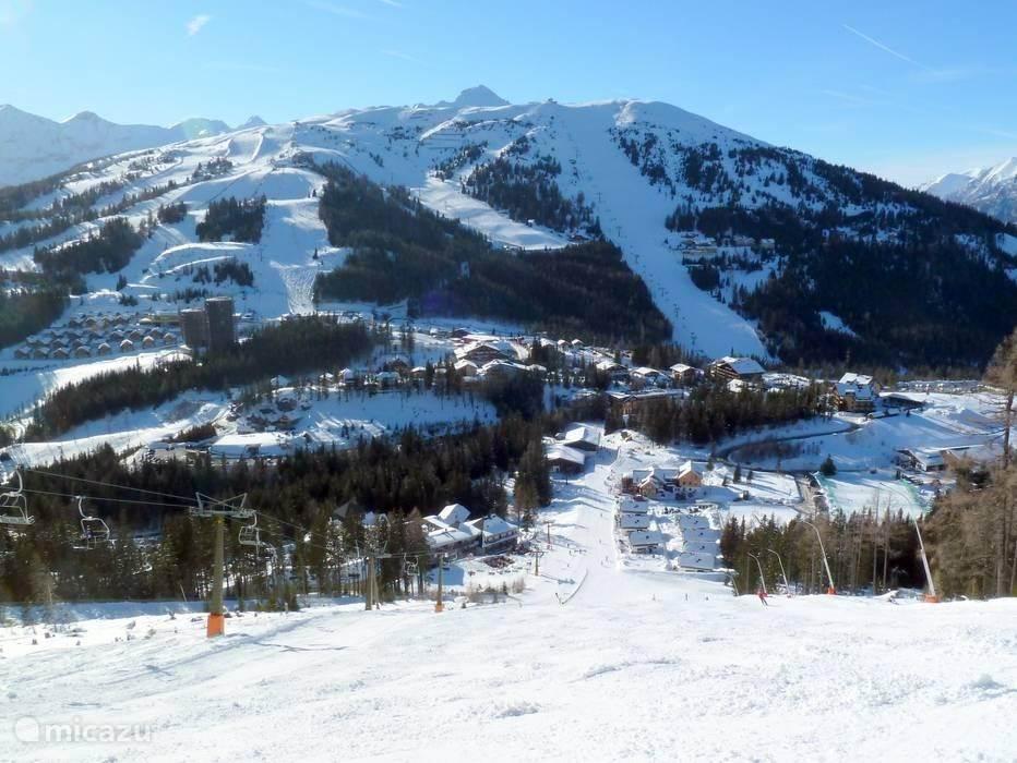 Skigebied Katschberg:  een modern skigebied en ruime après-ski mogelijkheden. Het is sneeuwzeker tot laat in het seizoen.