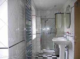 Part of the bathroom.