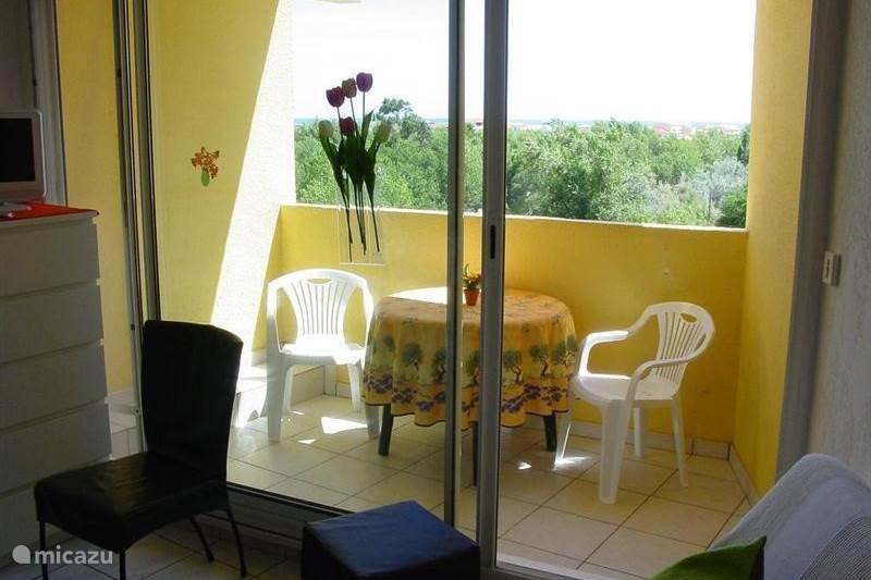 Vakantiehuis Frankrijk, Aude, Narbonne-Plage Appartement Middellandse Zee Bellevue met WIFI