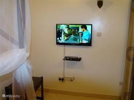 Tv van slaapkamer