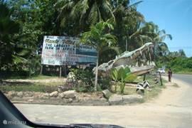 Op 10 minuten loopafstand van villa Nyali kom je bij Mambo Village: grootste krokodillenfarm van Oost-Africa.