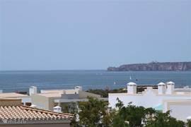 Prachtig zeezicht vanaf het terras