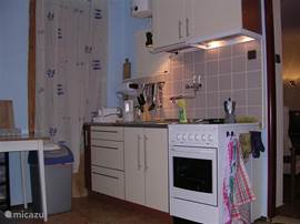 The fully equipped kitchen on the first floor