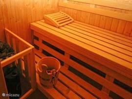 Met sauna, heerlijk genieten van uw eigen wellness