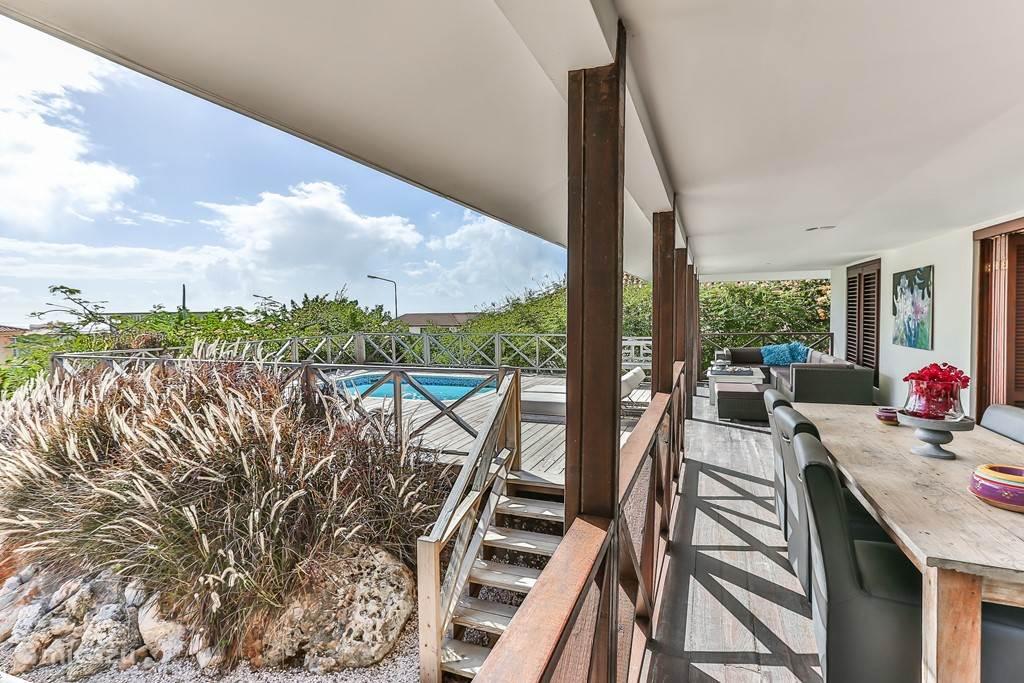 Vakantiehuis Curacao, Banda Ariba (oost), Jan Thiel Villa Zeezicht