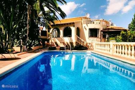 Vakantiehuis Spanje, Costa Blanca, Moraira villa Casa Bilbao