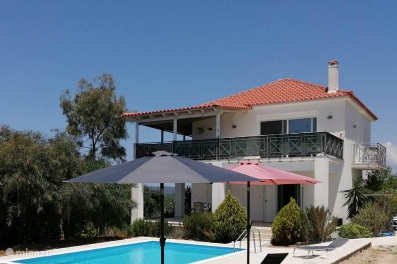 Vakantiehuis Griekenland, Peloponnesos, Evangelismos Villa Villa Kerasi
