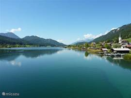 Weissensee, the ideal place for a nice walk, diving, surfing and much more