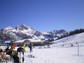 Nassfeld ski arena has 115 km of slopes, through the southern location, there are a lot of sunshine.