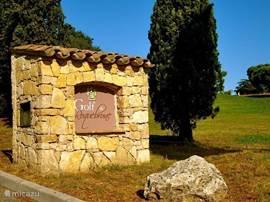 Deel van de golfbaan van Roquebrune sur Argens