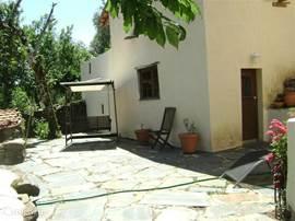 Casa Pêra met het gedeelde terras.