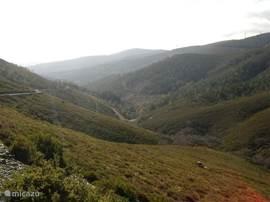 Serra da Lousa waar je mooie wandelingen kunt maken.