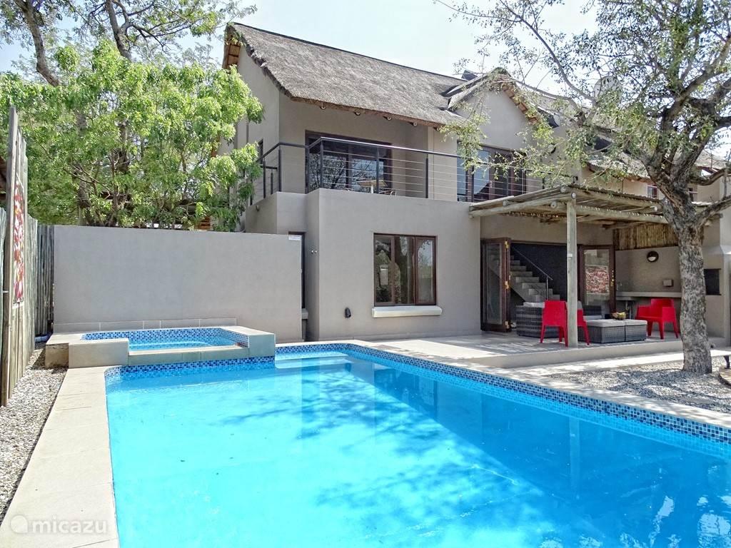 Vakantiehuis Zuid-Afrika, Limpopo, Hoedspruit - vakantiehuis BushGlam Luxury Holiday Home, Kruger