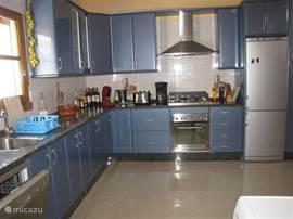 Casa Pimienta heeft een ruime en compleet ingerichte keuken
