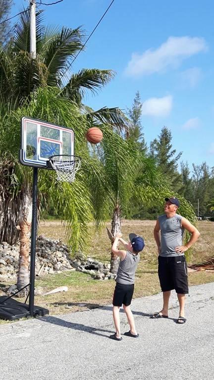 En natuurlijk hebben we een basket!
