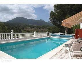 Vakantiehuis Spanje, Costa Blanca, Tibi vakantiehuis Villa Angenita