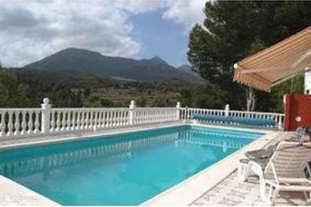 Vakantiehuis Spanje, Costa Blanca, Tibi - vakantiehuis Villa Angenita