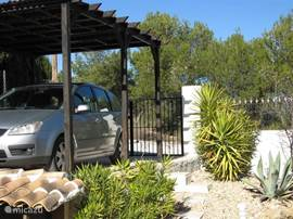 carport, tuin afsluitbaar