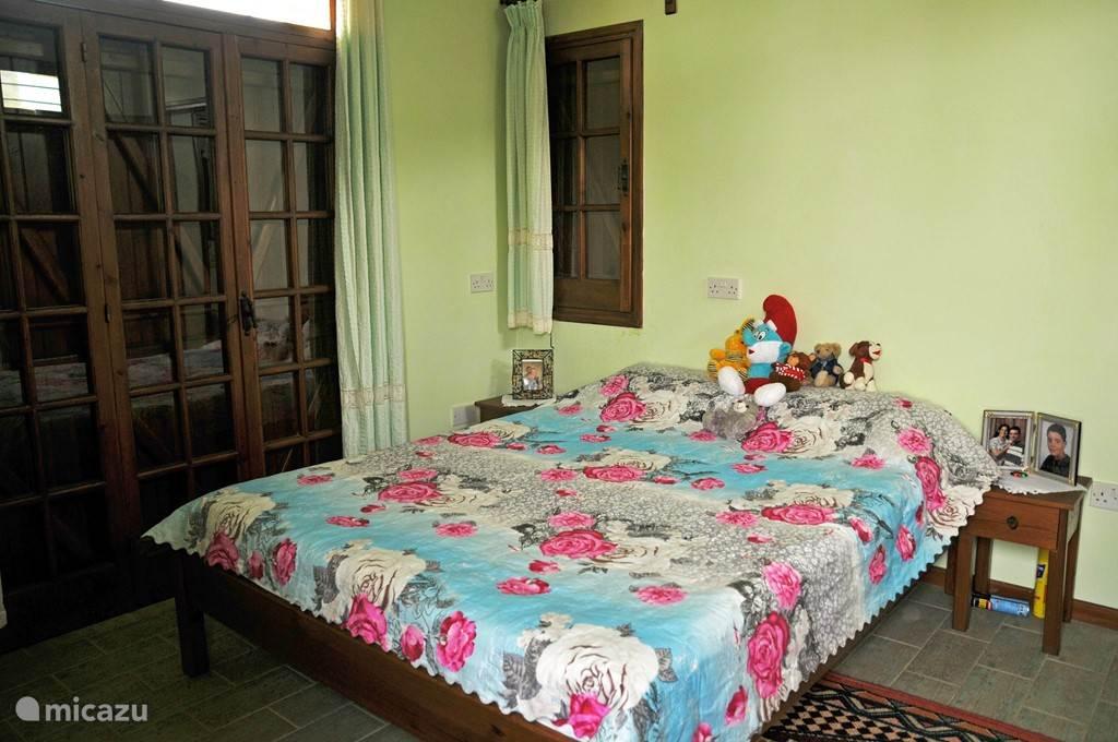 2e slaapkamer met 2 personen bed