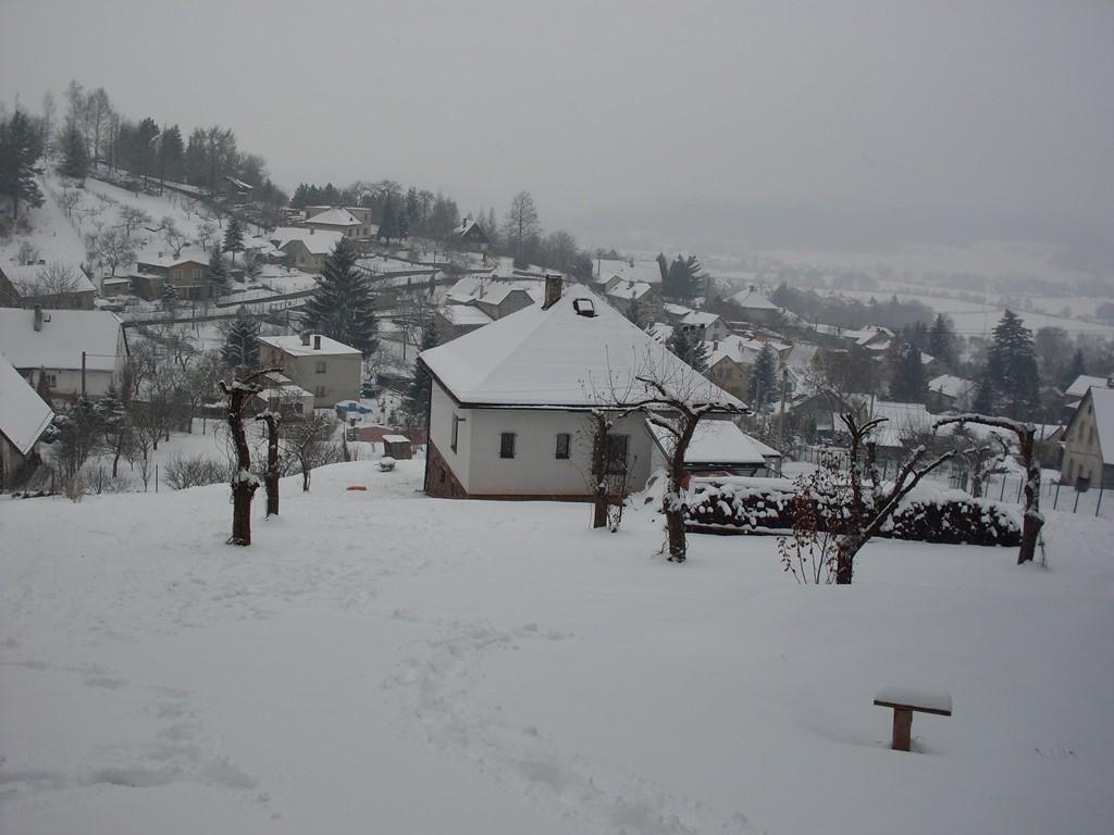 Gezellig Kerst vieren bij de houtkachel in Tsjechïe. Een uitstapje naar Praag met de trein. Prachtig ski- en wandelgebied. Geen extra energiekosten.