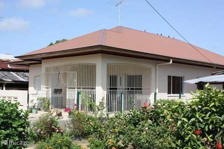 Vakantiehuis Suriname – bungalow villa promes