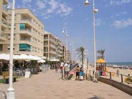 De boulevard van Guardamar