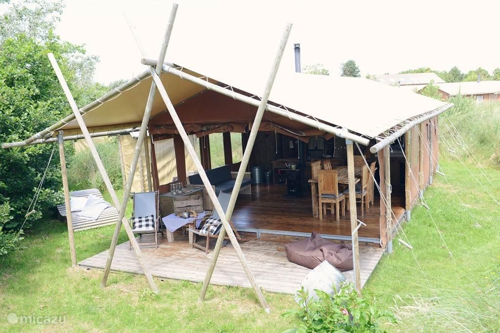 Vakantiehuis Nederland, Noord-Holland, Callantsoog Glamping / Safaritent Duynpark Het Zwanenwater