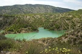 Het natuurgebied de Sierra Espuña.