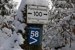 wandelpad vlakbij het huis. Ook in de sneeuw kunt u prachtige wandelingen maken in de directe omgeving van het huis