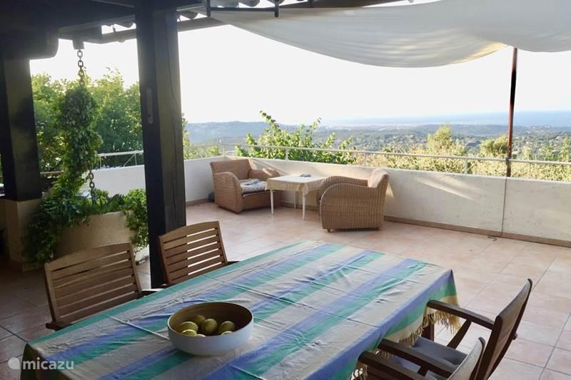 Vacation rental France, French Riviera, Saint-Jeannet Villa Villa Lou Cigalou: beautiful view