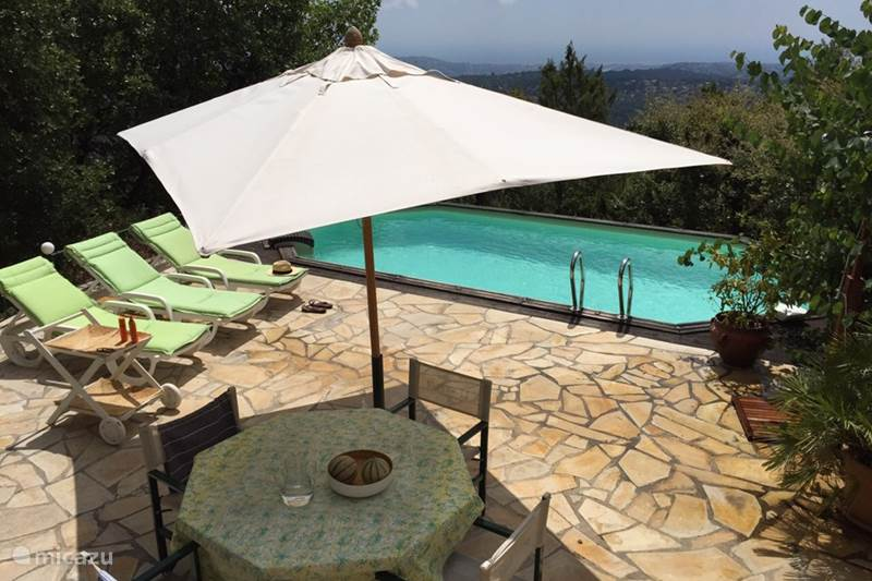 Vakantiehuis Frankrijk, Côte d´Azur, Saint-Jeannet Villa Villa Lou Cigalou: mooi uitzicht