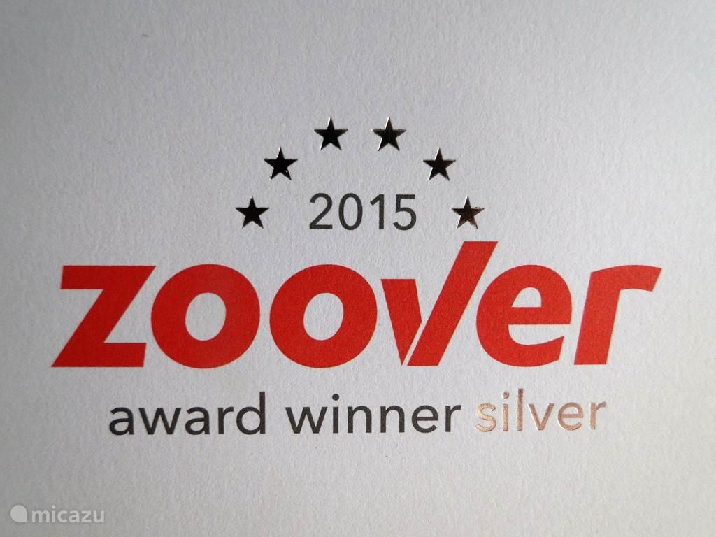 Hoera ! We hebben de zilveren Zoover Award ontvangen. Onze gasten hebben onze appartementen enorm gewaardeerd, hartelijk dank hiervoor