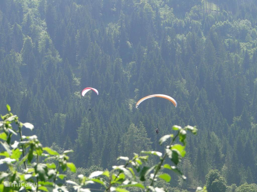The Wildschönau, one of the best areas in Tyrol to paragliding. Dare you (tandem) plunge?